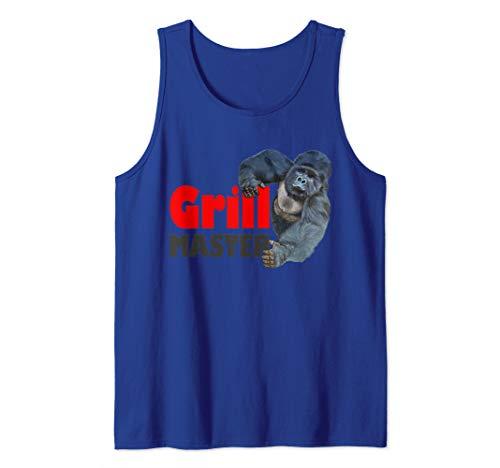 Starker Gorilla Grill Master Grillparty Sommer Geschenk Tank Top