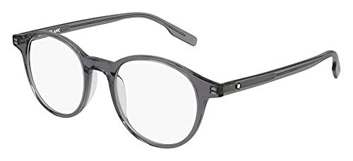 Mont Blanc Gafas de Vista MB0154O Grey 49/20/145 hombre