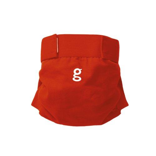 Gnappies, pannolini riutilizzabili, Good Fortune Red (rosso), M