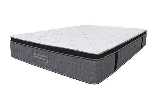Home Source Memory Foam Mattress Pocket Sprung Quilted 31cm Deep, King Size 5ft