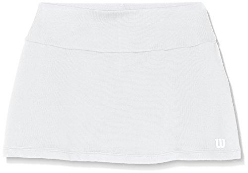 Wilson G Core 11 Falda de Tenis, niñas, Blanco (White), SM