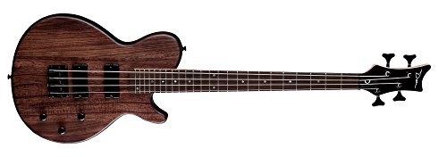 Dean Evo XM Mahogany Short-Scale Electric Bass Guitar - Natural