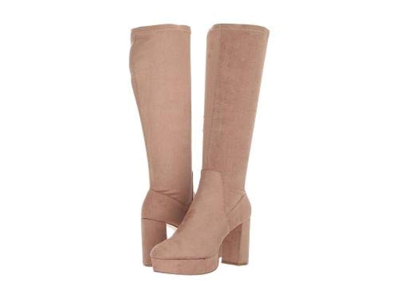 作曲する学校助けてChinese Laundry(チャイニーズランドリー) レディース 女性用 シューズ 靴 ブーツ ロングブーツ Nancy Boot - Mink Suedette [並行輸入品]