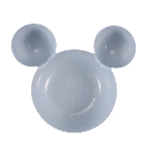 Cerámica BowlCartoon Mouse Mickey Bowl Platos Caja de almuerzo Niño Bebé Niños Alimentación Arroz