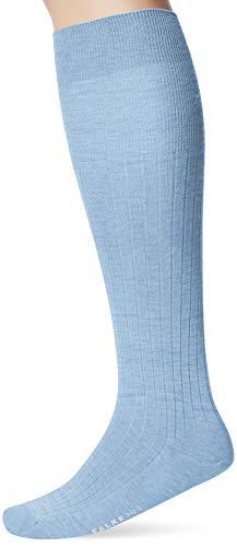 FALKE Herren No. 2 Finest Cashmere Socken, Bleue Melange, 43-44