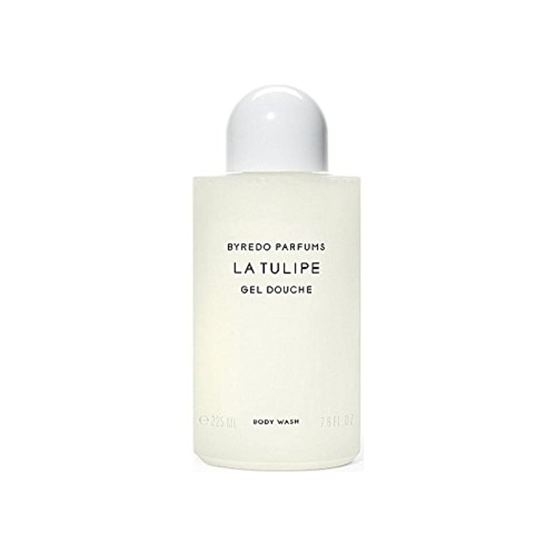 発明リマークテナントラチューリップボディウォッシュ225ミリリットル x4 - Byredo La Tulipe Body Wash 225ml (Pack of 4) [並行輸入品]