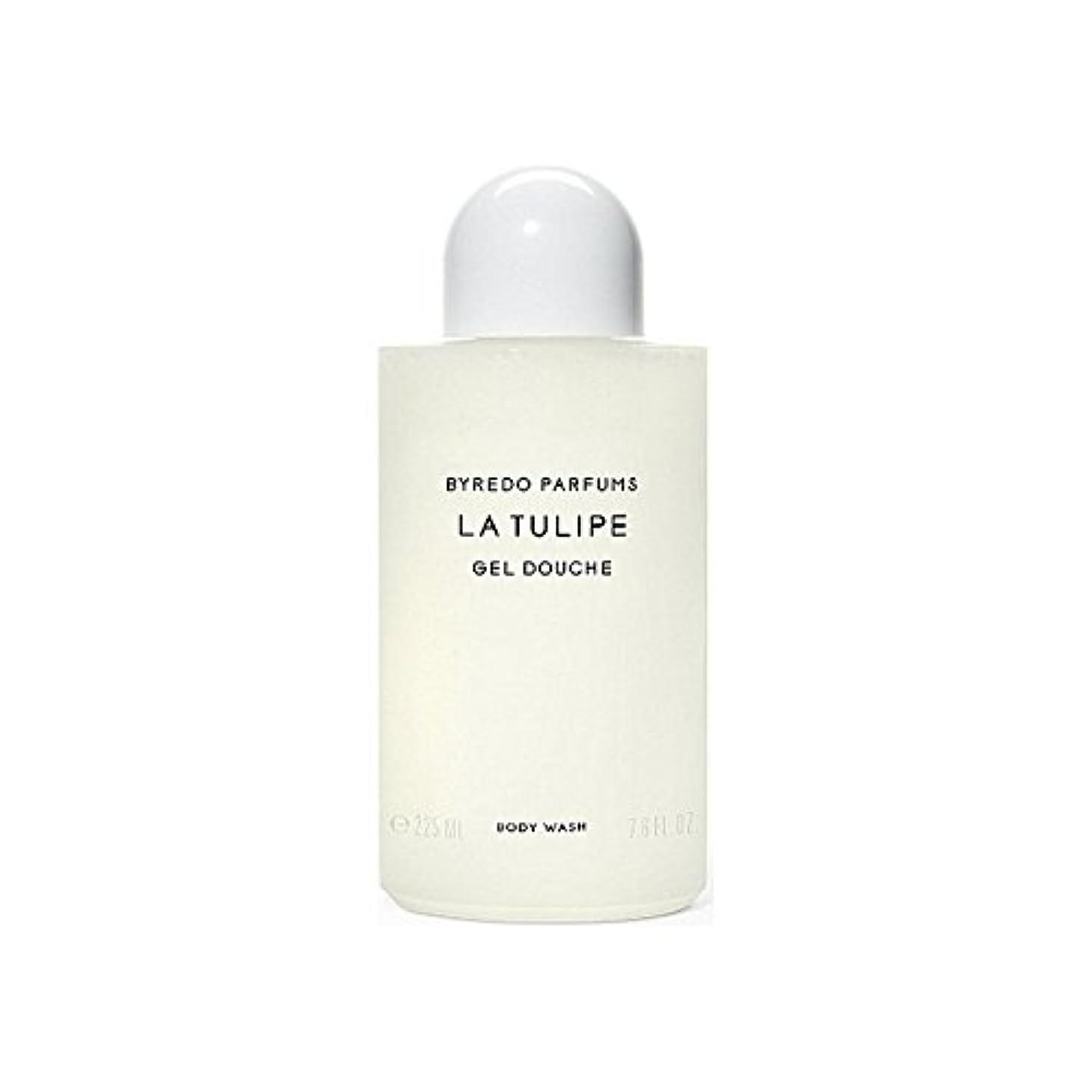 分析的な保持ピューByredo La Tulipe Body Wash 225ml (Pack of 6) - ラチューリップボディウォッシュ225ミリリットル x6 [並行輸入品]