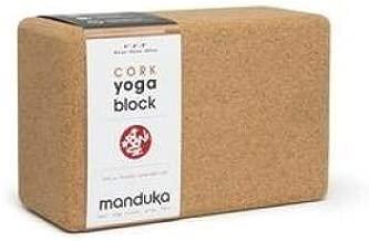 Manduka Cork Block Yoga Accessories Natural