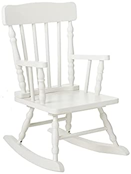 Gift Mark Colonial Rocking Chair White