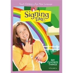 Signing Time My Favorite Thing Dvd
