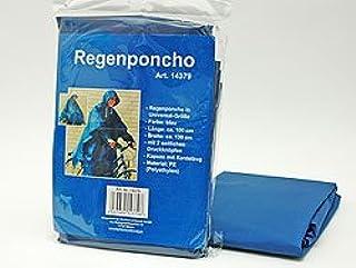 Rosso H&B Poncho Impermeabile per Bambini Blu Colori Assortiti: Giallo Verde