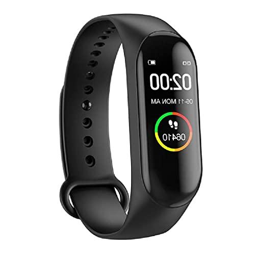OWENRYIN Reloj inteligente IP67, resistente al agua, rastreador de actividad, recordatorio de llamadas/SNS, rastreador de sueño, podómetro, para hombres y mujeres