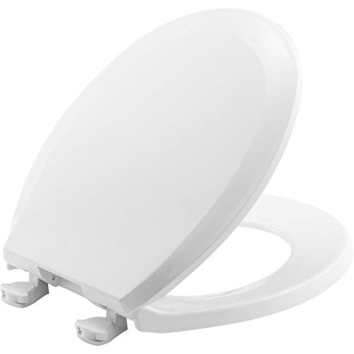 get price for Bemis 100EC000 Plastic Round Toilet Seat with Easy