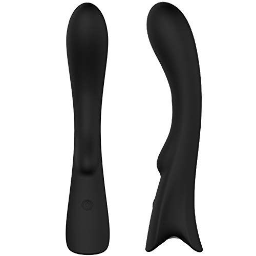 9 Vibration Frequency Wand Black Massager Silicon Vibrabrators Waterproof Viboraters Easy Handheld Anti-Slip Handle Soft Touch Elegant Ergonomic Design