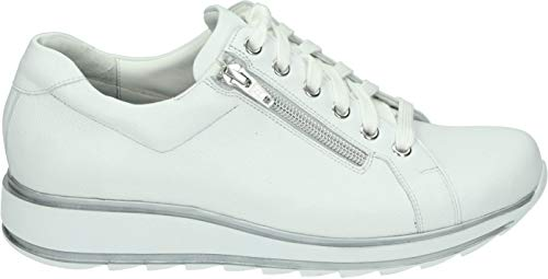 Durea Sneakers 6239 685 Wijdte H Uitneembaar Voetbed Wit