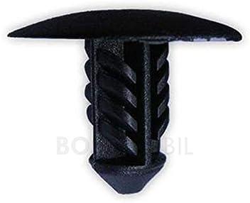 BOSSMOBIL Plastica Rivetti Spianati 17 X 28 X 6 mm Viti Spianati Clip Di Attaccamento//Fissaggio