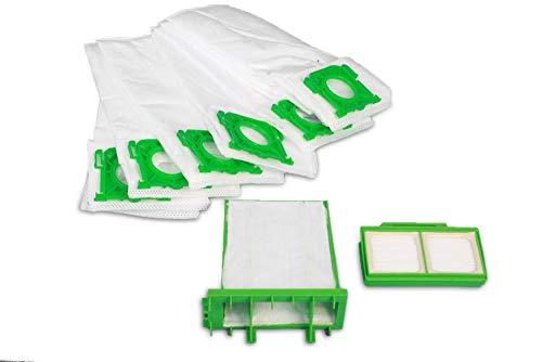 Sparset Servicebox passend für Sebo Airbelt K : 8 Premium Staubsaugebeutel, Micro Filter, Hygienefilter Ersatz für Sebo 6695ER