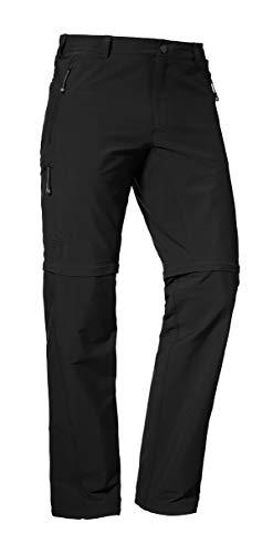 Schöffel Herren Pants Koper Zip Off Hose, schwarz (Black), 56