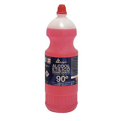 Alcopro Alcool Etilico Denaturato 90° - 12 flaconi da 1 litro