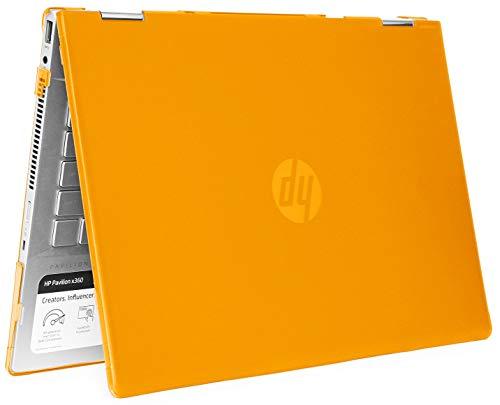mCover - Carcasa rígida para portátiles HP Pavilion X360 14-CDxxxx / 14-DDxxxx Serie Convertible 2 en 1 (14