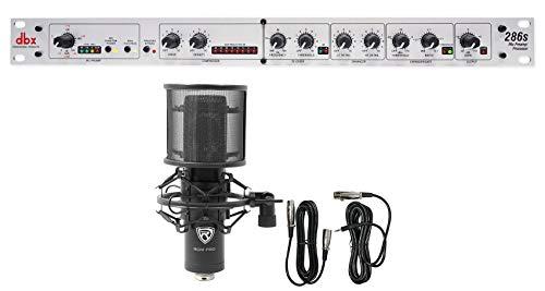 DBX 286S Microphone Mic Pre-Amp Processor 286 S, Phantom Power+Condenser Mic