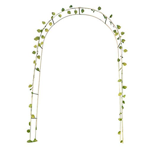 Garden Arch for Climbing Plants Metal Arch for Climbing Roses, for Roses Climbing Plants Support Archway garden Decoration
