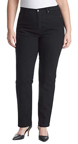 Gloria Vanderbilt Ladies Denim Tall Length - Black 8