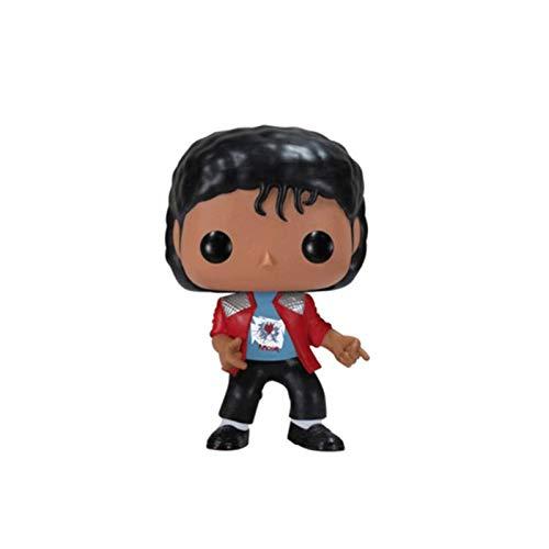 Funko Michael Jackson Figura Chibi PVC Abrigo Rojo Q Vinil 10cm for Boy