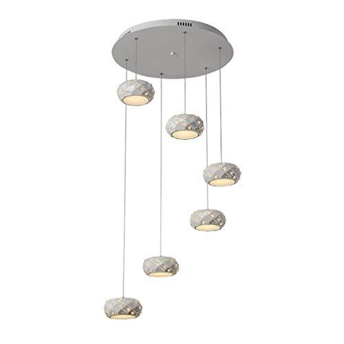 Indoor Nordic Iron Minimalistische Kroonluchter Retro Creatieve Restaurant Cafe Kleding Store Raam Moderne Kunst Kroonluchters Home Corridor Aisle Office Decoratieve Lamp [Energie Klasse A +]