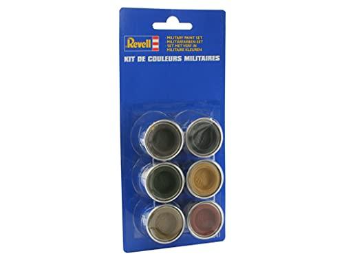 Revell - 32341 - Accessoire Pour Maquette - Couleurs Militaires 6 Pots