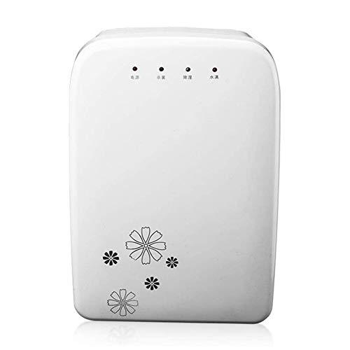Rteanb 2.1L Dehumidificadores de energía baja para el secador de aire para el hogar La humedad absorbe 850 ml por día, ideal para condensación, blanco, adecuado para dormitorio, sótano, cocina, oficin