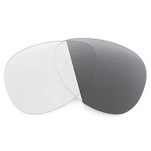 Revant Lentes de Repuesto Compatibles con Gafas de Sol Ray-Ban RB8313 58mm, No Polarizados, Gris Fotocromático