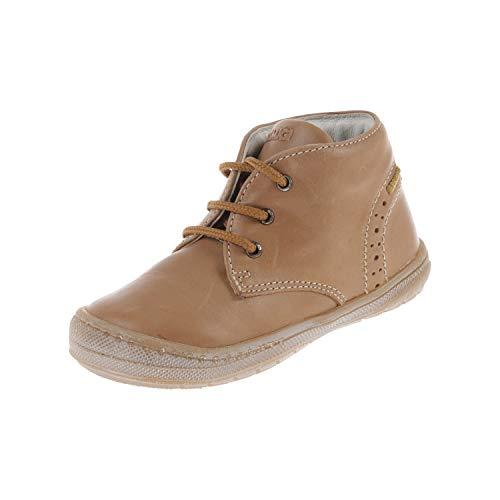 Primigi. Babyschoenen voor jongens laarzen loopschoenen beige Scuro 70477