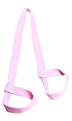 Strapazierfähige Yogamatte Geschirr Riemen Sling, Yogamatte Tragegurt, rose, Einheitsgröße