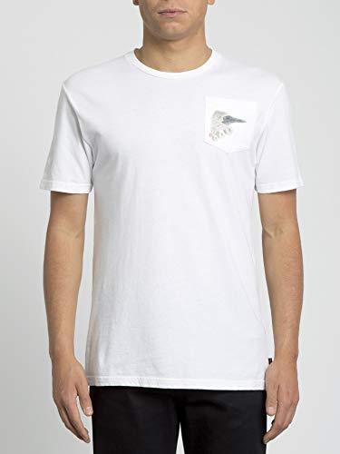 Volcom T-Shirt Giveback Featured Artist Short Sleeve - Homme T-Shirt - White