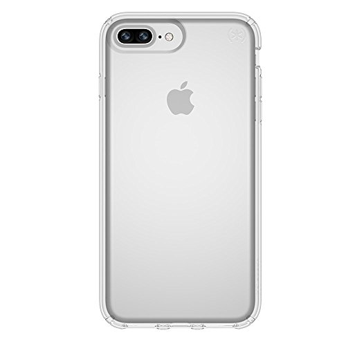 Speck Presidio Clear Protective Case with Scratch Resistant Finish for iPhOne 6 Plus/6s Plus/7 Plus/8 Plus - Clear