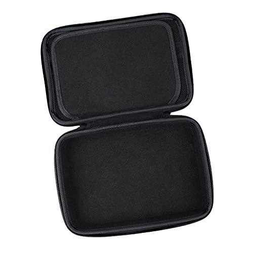 Perfeclan Borsa portaoggetti per Fotocamera Portatile Custodia Rigida compatta Organizzatore cardanico Universale per DJI per OM4 SE, adattatori, Accessori da