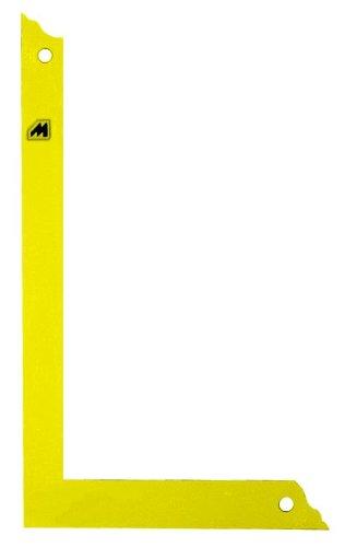 Metrica 29305 Squadra Carpentiere Flessibile 1000 mm, Giallo