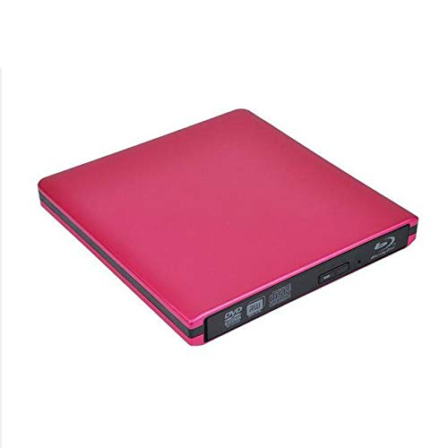 Blu-ray DVD Burning Optical Drive, Computer External Optical Drive Drive, USB3.0 External DVD Drive Type C and USB Portable CD/DVD/- RW ROM Burner Rewriter Superdrive Compatible with Apple Mac Macbook