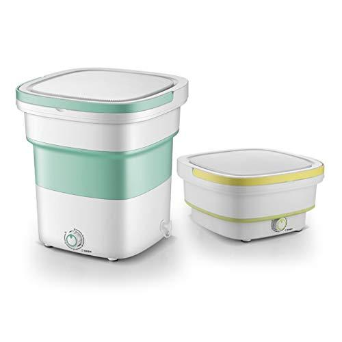XSJZ Tragbare Waschmaschine, Rotierende Zwei-Wege-Mini-Reinigungsmaschine, In Frauenunterwäsche/Babykleidung...