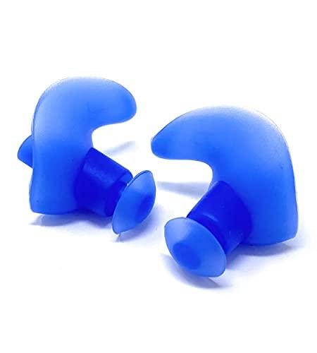 Tappi Orecchie Nuoto – SCONTI QUANTITÀ – Sport in acqua – Tappi Orecchie Bambini e Adulti - Unisex – Nuoto Sincronizzato – Piscina - Colore Blu – Quantità Confezioni: 1-10-25-50-100 PZ