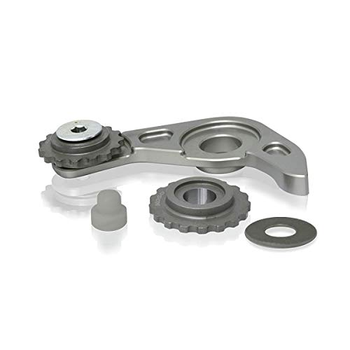 Black KOSO HD-04 Gauge 3-3//8in Stock Mounting Cups for 14-19 Harley XL1200C