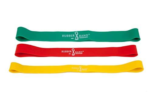 Dittmann Rubberband 30er Set 3 Widerstände Training Functional Kraft Workout