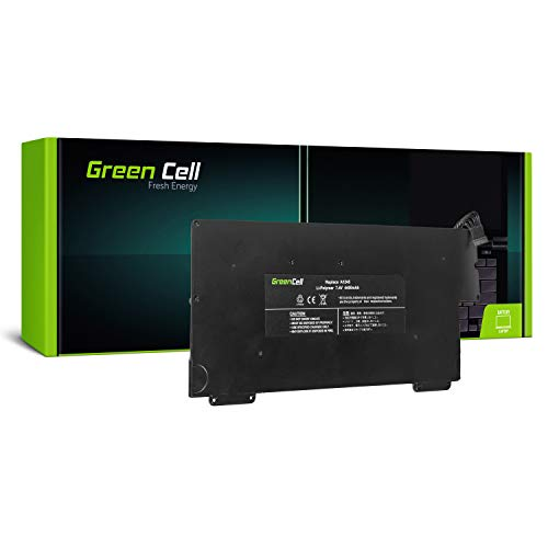 Green Cell A1245 Accu Laptop Batterij voor Apple MacBook Air 13 A1237 A1304 2008-2009 (4400mAh 7.4V Zwart)