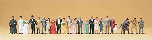 Preiser 14415 Hochzeitsgesellschaft. 24 Fig