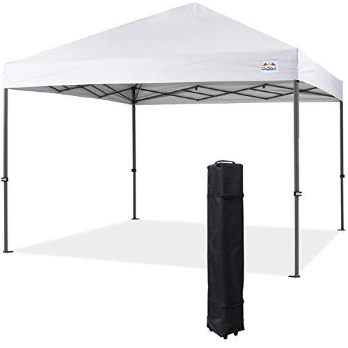 COOSHADE Heavy Duty Pop Up Canopy Tent 12x12Ft(White)