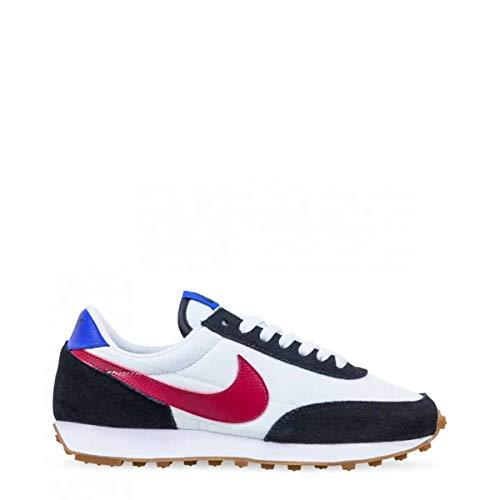 Nike Daybreak, Running Shoe Mujer, Negro/Rojo Noble/Blanco/Azul Carrera, 40 EU