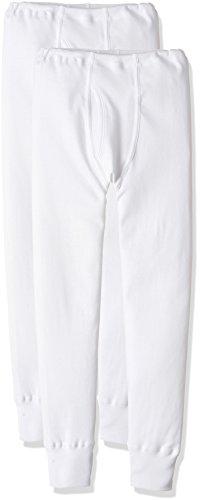 [グンゼ] タイツ あったか厚地 綿100% 2枚組 ボーイズ ホワイト 日本120 (日本サイズ120相当)