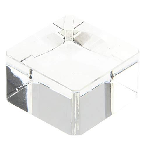 Homyl Klare Kristall Kugel Ständer Ausstellungsstand Für Kristallkugeln Glaskugel - 3 x 3 x 1,8 cm