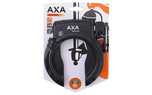 AXA 1X Rahmenschloss Defender, Schwarz, 12x10x10 cm